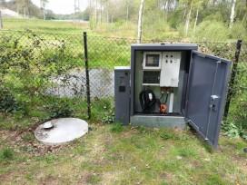 Opsætning af alarm fra pumpebrønd