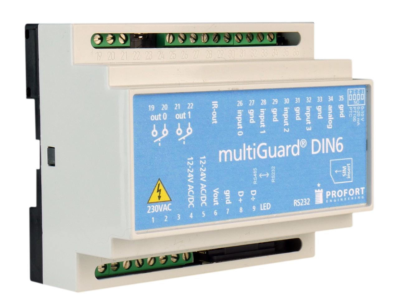 Quick-manual – multiGuard® DIN6