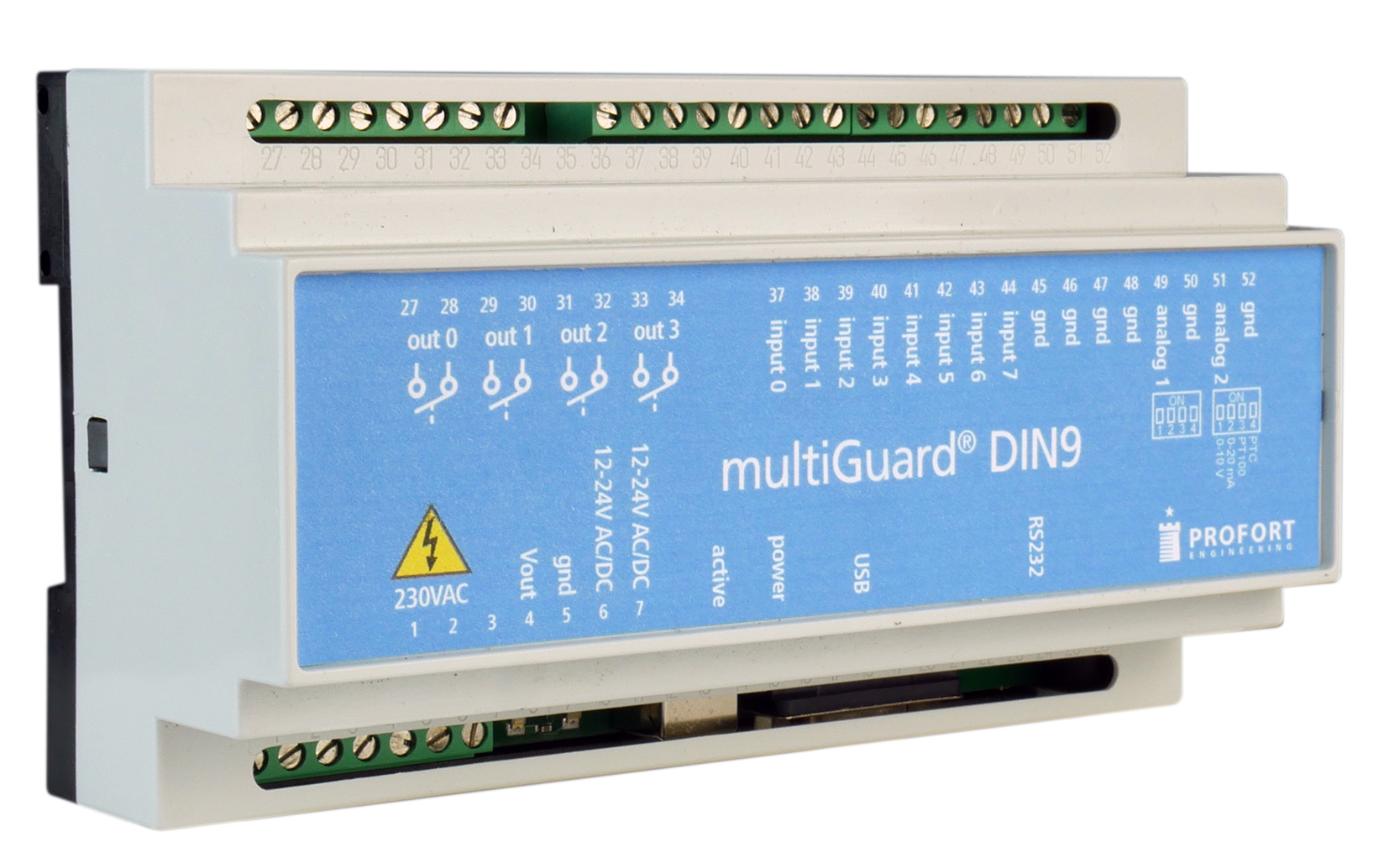 Download the quick-manual for multiGuard® DIN9