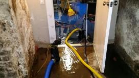 Overvågning af affugtning efter vandskade